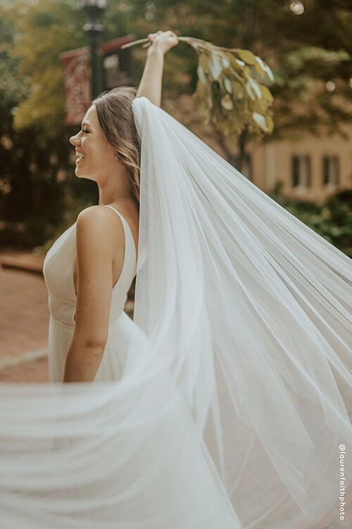 LUXE TULLE CATHEDRAL VEIL