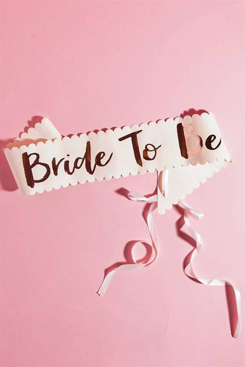 BRIDE SASH