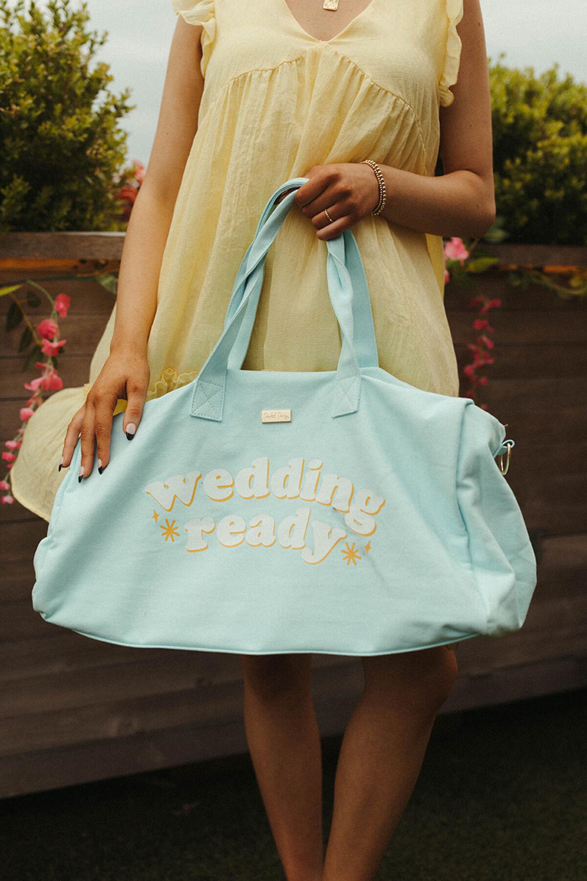 WEDDING READY DUFFEL BAG