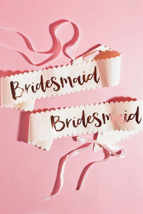 BRIDESMAID SASHES SET