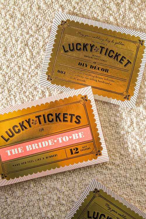 LUCKY TICKETS FOR BRIDES