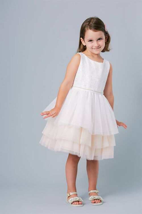 PLAYFUL FLOWERGIRL DRESS