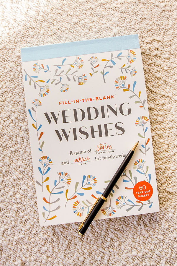 WEDDING WISHES GAME