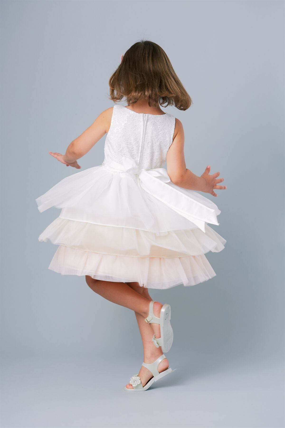 PLAYFUL FLOWERGIRL DRESS