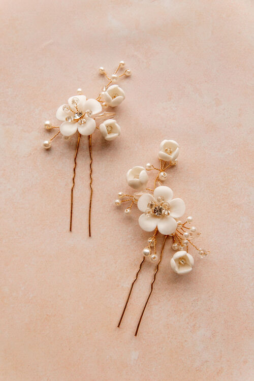 WHIMSY FLORAL PINS