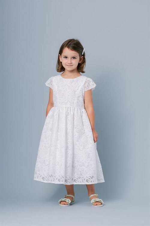 PRIM FLOWERGIRL DRESS