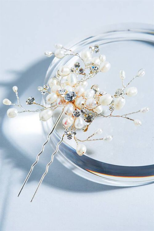 PEARL SPRAY HAIR PIN