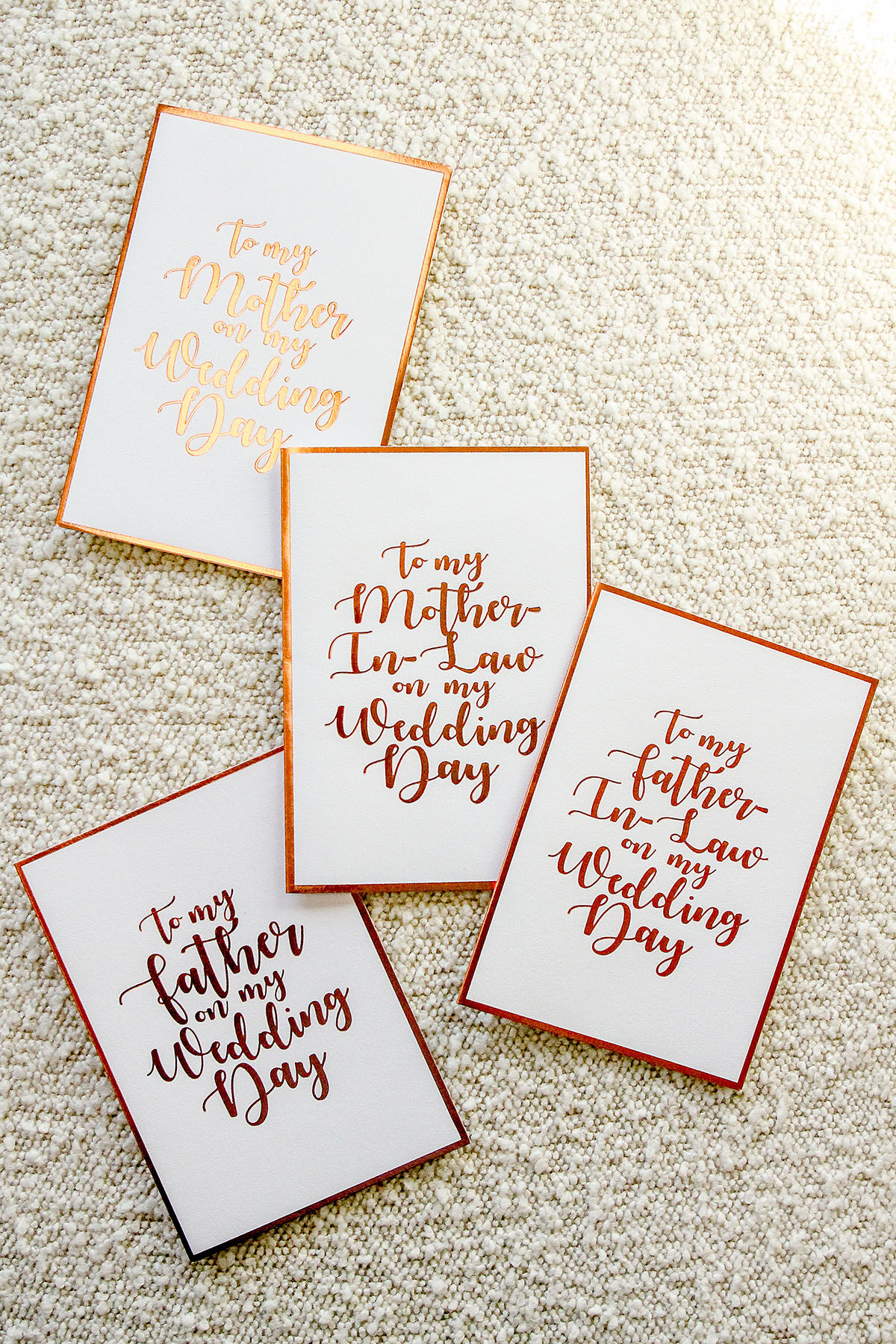 PARENTS LETTER SET