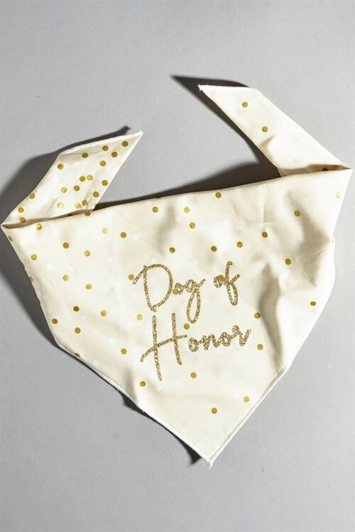 DOG OF HONOR BANDANA
