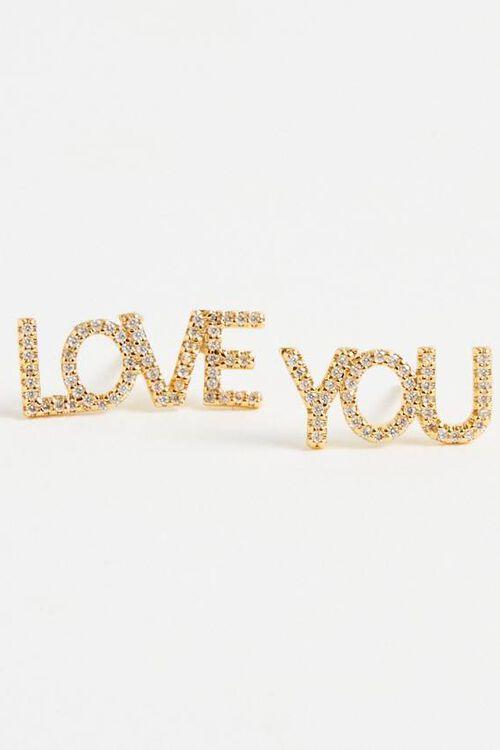 LOVE YOU EARRING