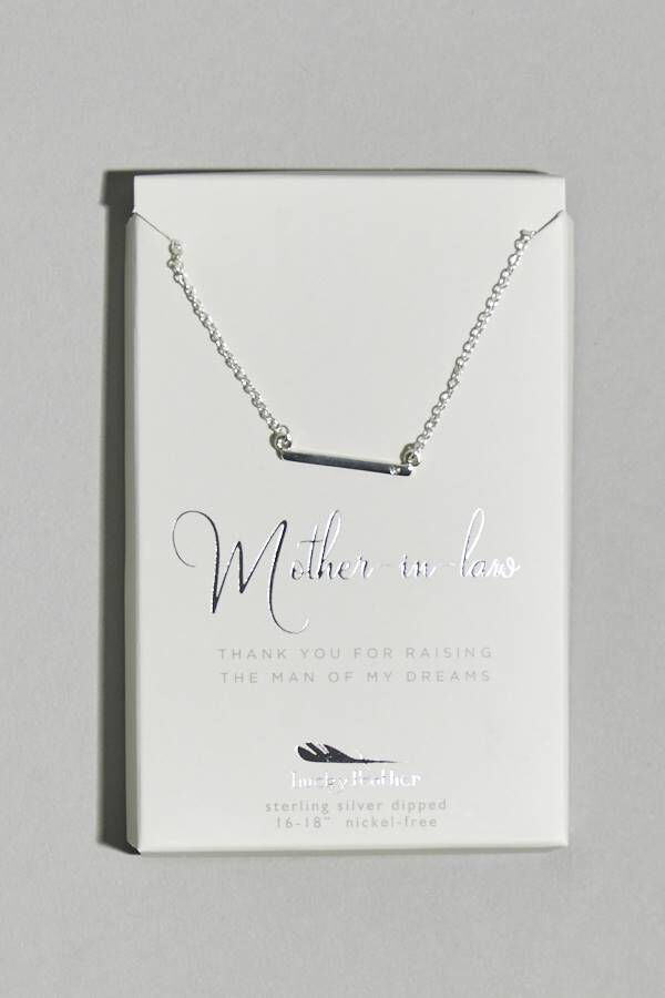 MOTHER OF GROOM NECKLACE