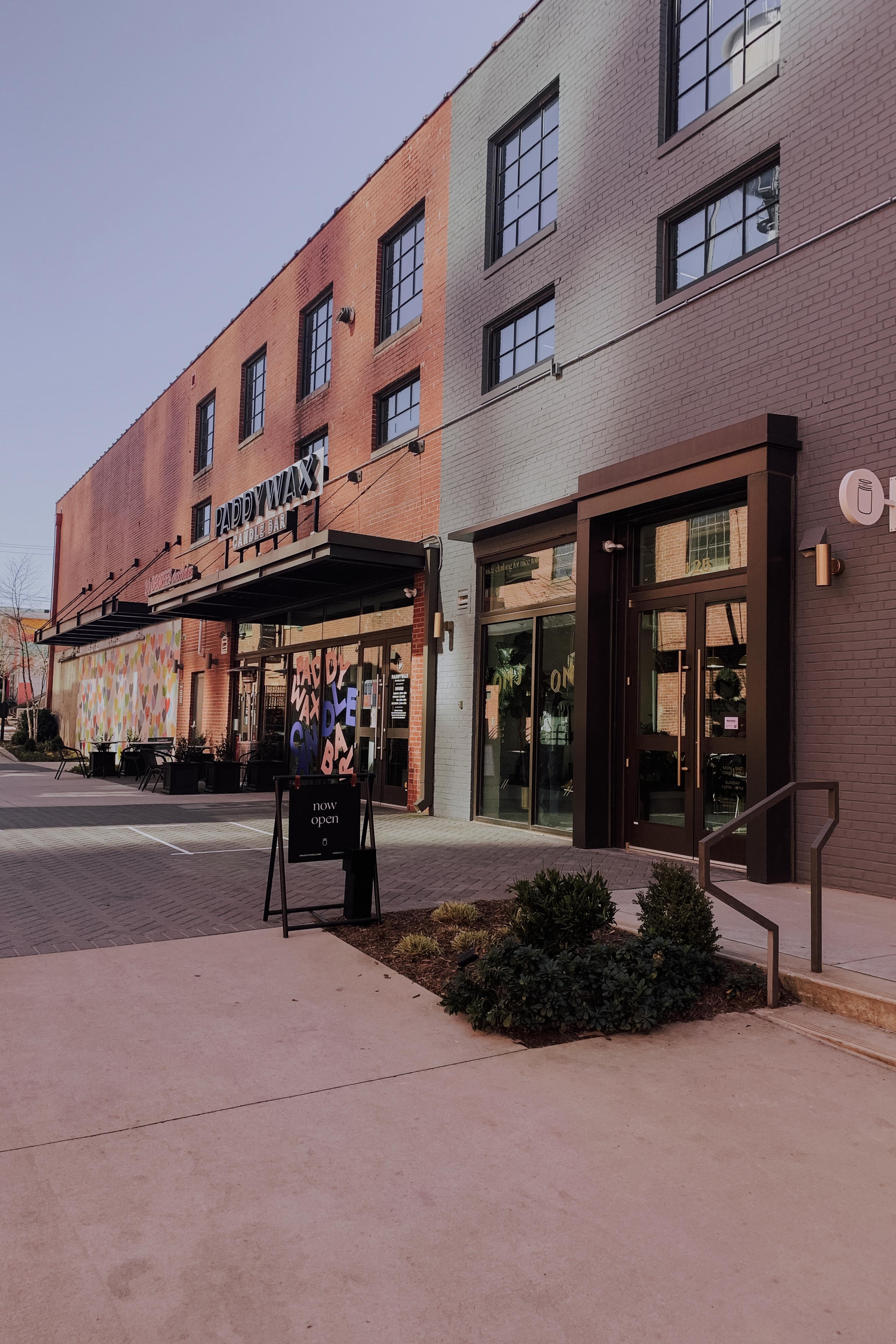 Charlotte Store Sitting Area