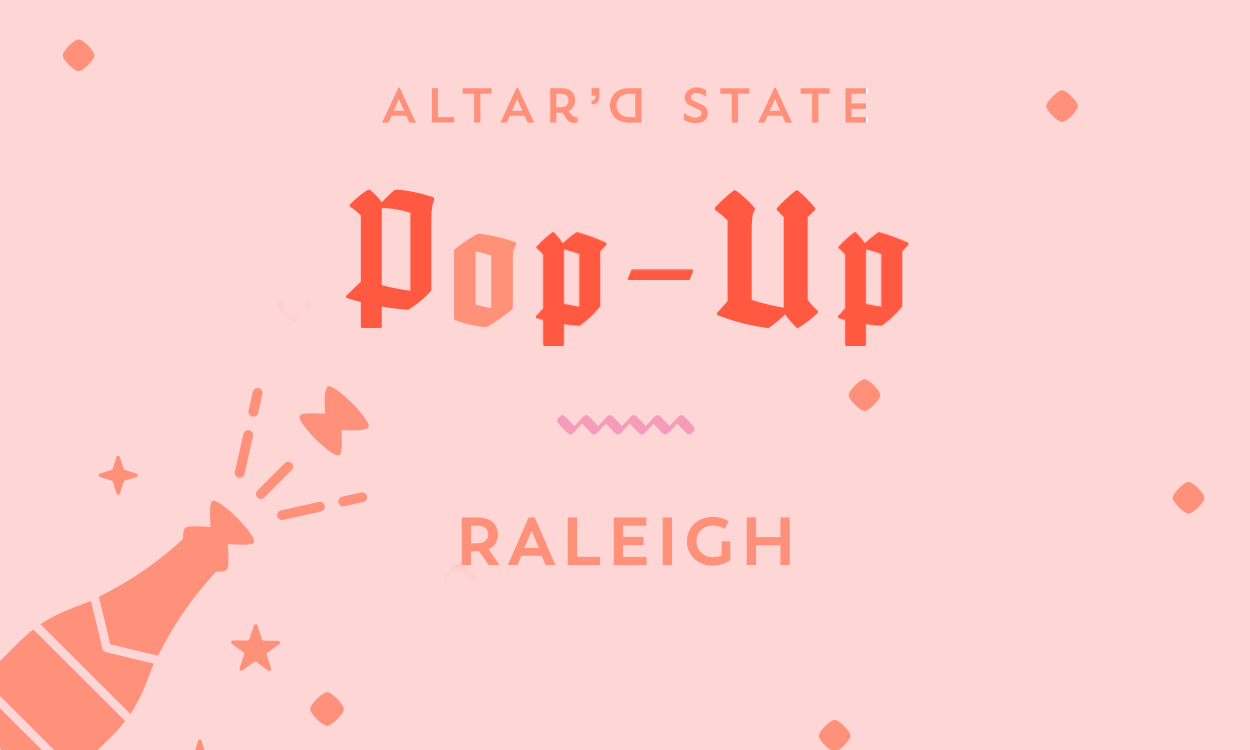 Vow'd Raleigh Pop-Up