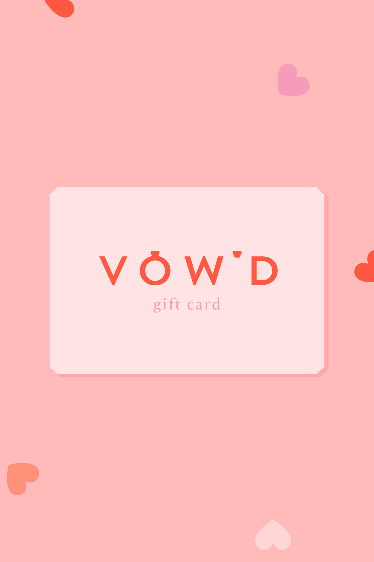 Vow'd Gift Card