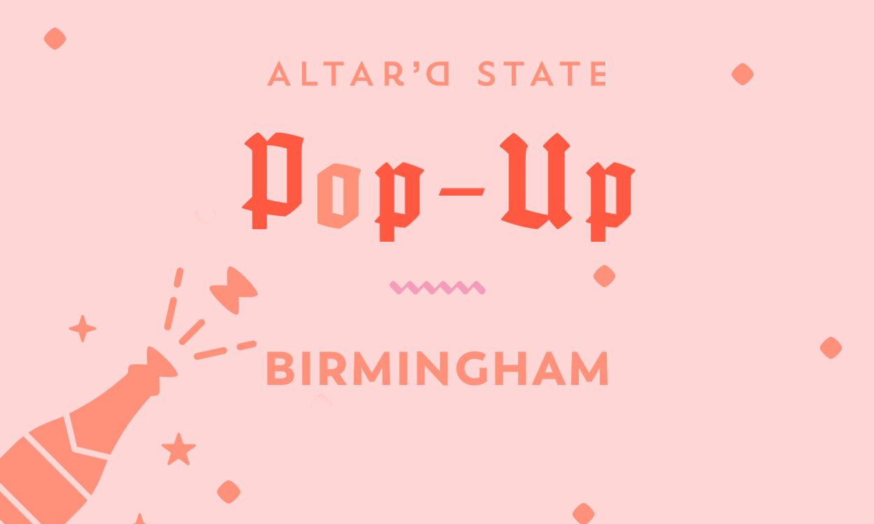 Vow'd Birmingham Pop-Up